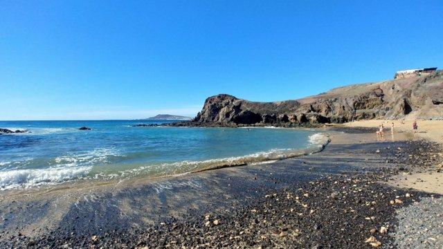 Playa de Papagayo in una mattina di fine novembre