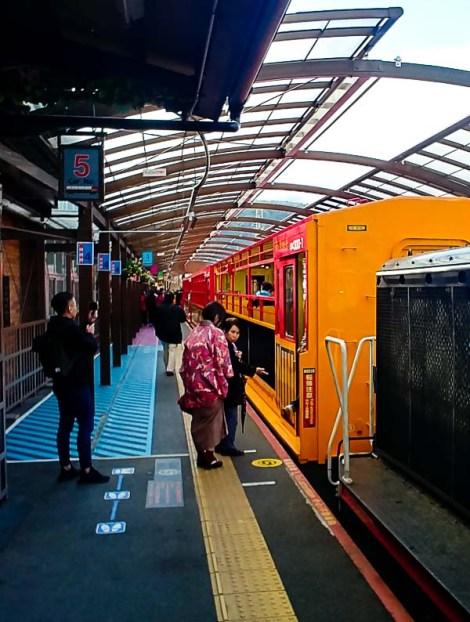 La partenza del Romantic Train