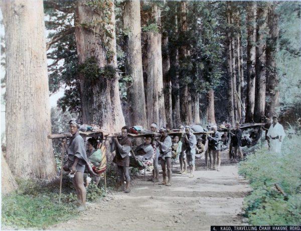 La Tōkaidō nell'800