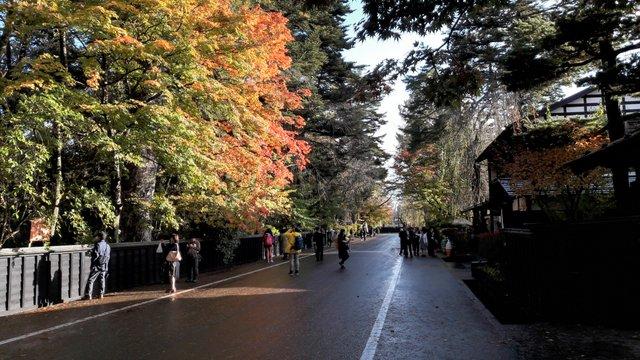 Il quartiere dei samurai di Kakunodate