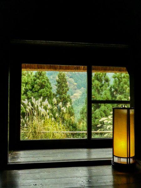 All'interno di Chiiori, nella Valle di Iya, la casa di Alex Kerr