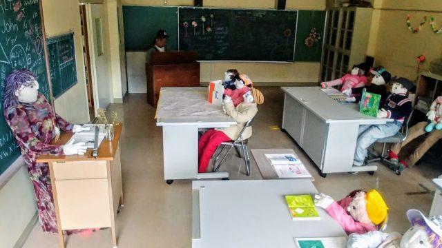 Dentro la scuola di Nagoro