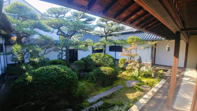 Yakage, il giardino dello Honjin