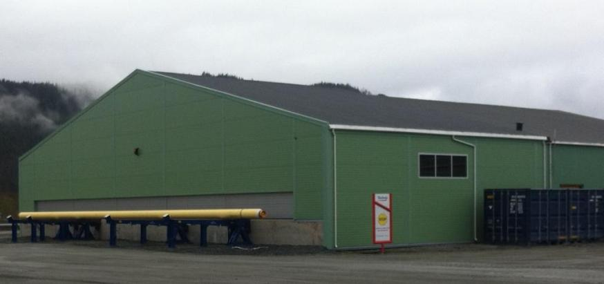Technip Norge AS - Incoming shed - Ferdig