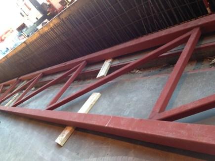 Technip Norge AS - Incoming shed - Prefabrikasjon av stål og forskaling til ny murvegg