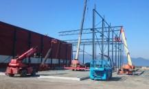 Ny kranhall til PMC Servi Cylinderservice AS i Rissa