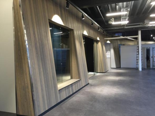 Utforming av butikklokaler på OTI-senteret, Orkanger