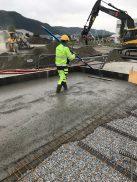 Stena Recycling -Støping av gulv til nytt Metallmottak