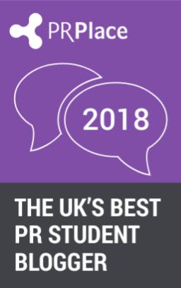 Best PR Student Blogger 2018