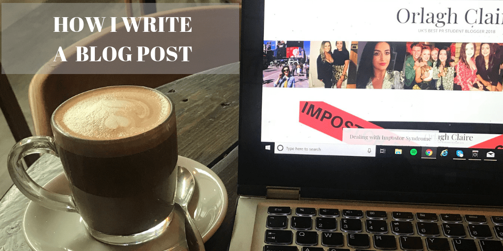 How I write a blog post
