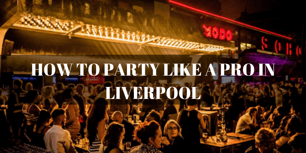 Party Like A Pro Liverpool