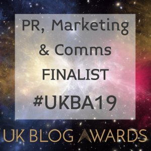 UK BLOG AWARDS 2019
