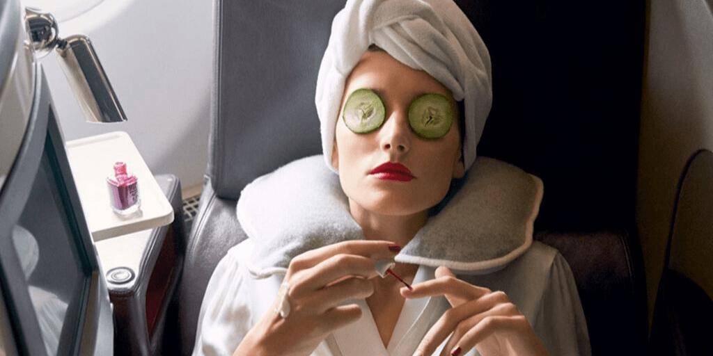 Longhaul Flight Skincare Routine