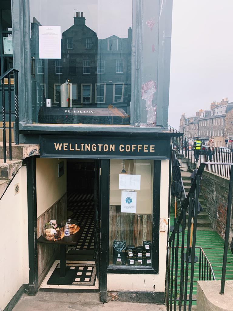 Wellington Coffee Edinburgh Scotland