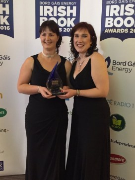 Me! And Vanessa Fox O'Loughlin of www.writing.ie the sponsor of the BGEIBA Short story of the Year