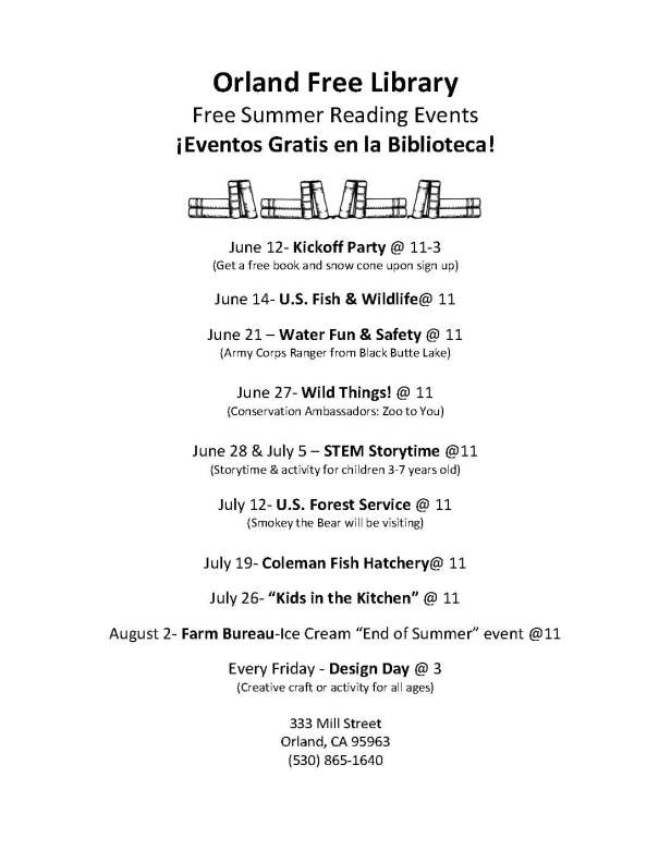 schedule of events 2017