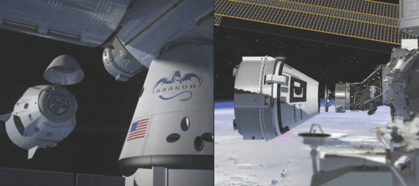 NASA hires SpaceX Boeing for more astronaut flights