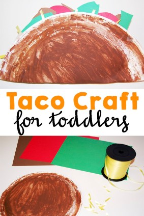 Taco Craft for Toddlers | Mom Explores SWF