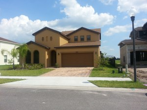 New homes East Orlando Reserve at Golden Isle
