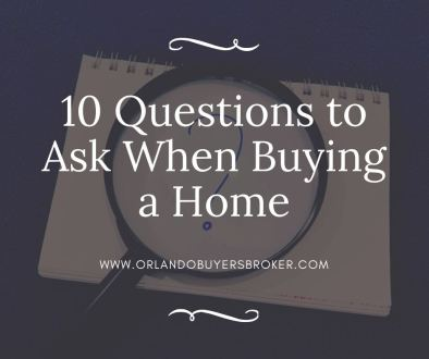 10 Questions to Ask When Buying a Home