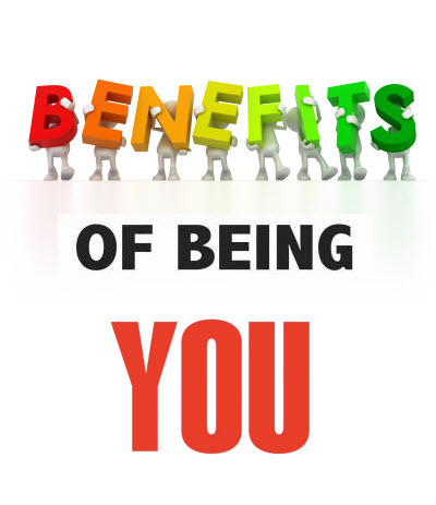 Benefits of being you2