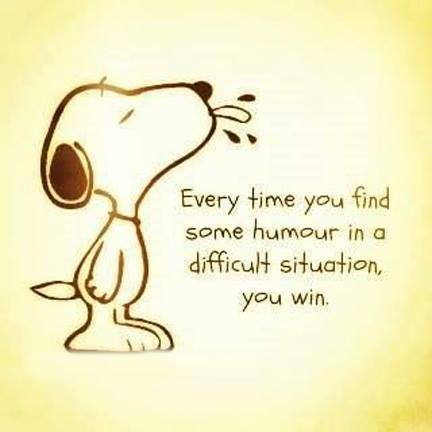 Every time you find some humor in a difficult situation you win orlando espinosa
