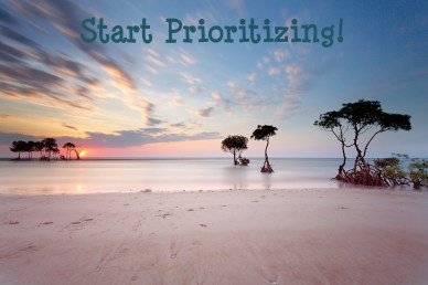 Start Prioritizing-Orlando Espinosa