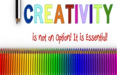 Creativity is not orlando espinosa-Colored-Pencils