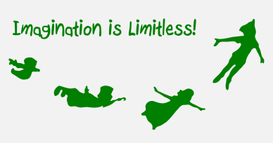 Peter Pan imagination is limitless orlando espinosa