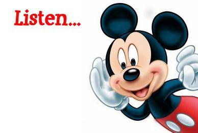 Listen Mickey Mouse orlando espinosa