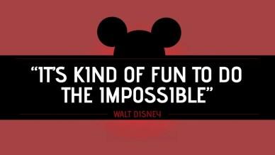 something impossible orlando espinosa- Walt Disney