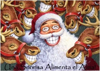una sonrisa orlando espinosa Santa Reindeer Smiles