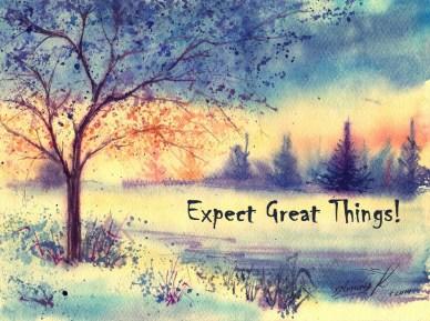 expecting great things wake up every morning-orlando espinosa