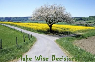 Make wise decisions orlando espinosa