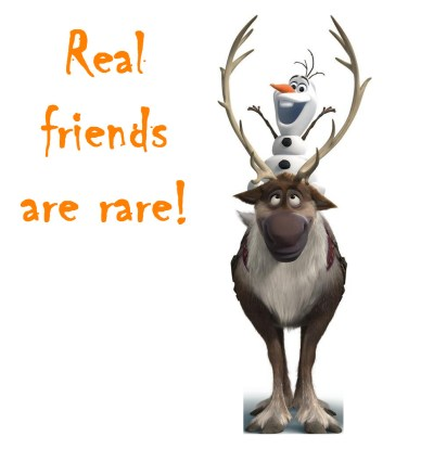 Real Friends Are rare orlando espinosa