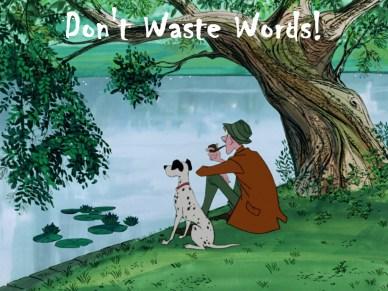 don't waste words orlando espinosa