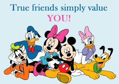 true friends value