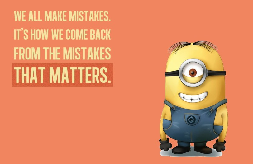Don't Focus On Mistakes orlando espinosa