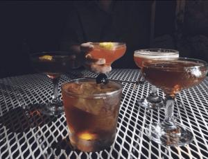 Beautiful prohibition era cocktails