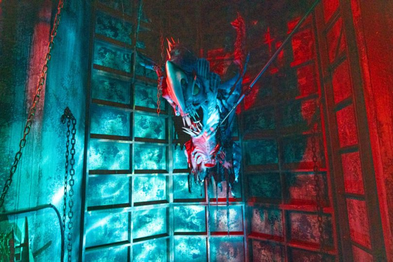 Image result for halloween horror nights depths of fear