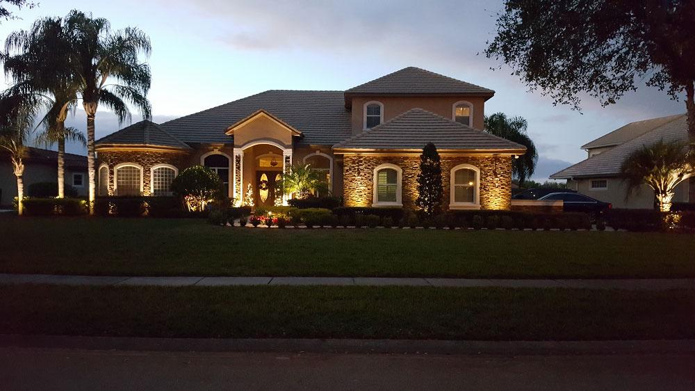 orlando landscape lighting promotes