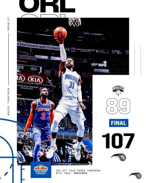 ORLANDO WIN WITH TENACIOUS D AND SHOOTING THREES