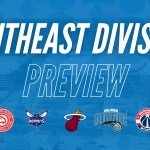 THE EASTERN CONFERENCE SOUTHEAST DIVISION