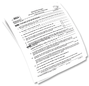 IRS Tax Form 8824 for 1031 Exchange