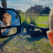 Wild Florida Drive-Thru Safari: image of boy looking at animals as he drives by in a car