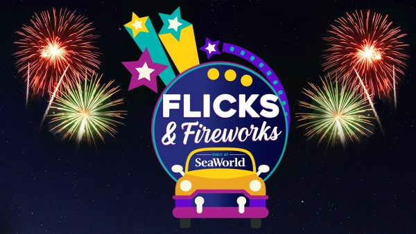 Things to do this weekend: Flicks & Fireworks SeaWorld Orlando