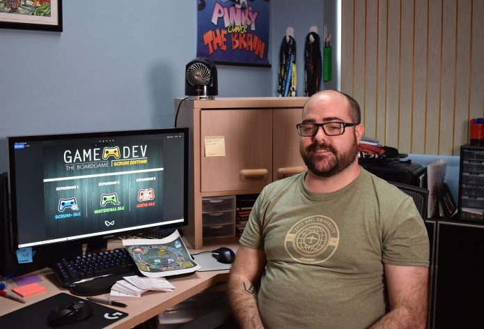 Video game leader sets sights on teaching with new board game