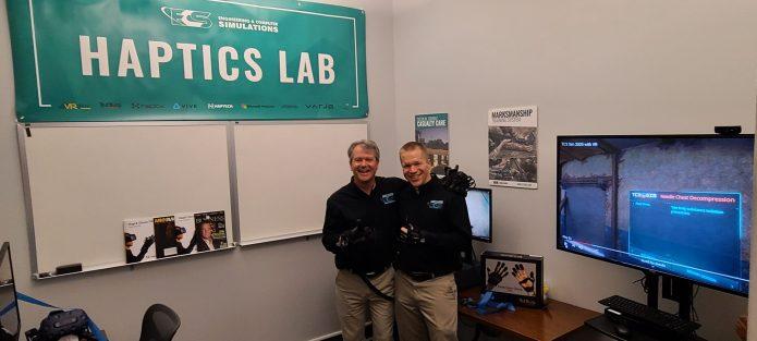 ECS opens 1st Orlando haptics technology lab