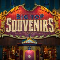 Big Top Souvenirs in Storybook Circus at Magic Kingdom Remains Closed After Fire