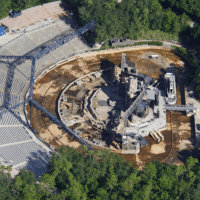 Fantasmic Lagoon Remains Drained at Disney's Hollywood Studios